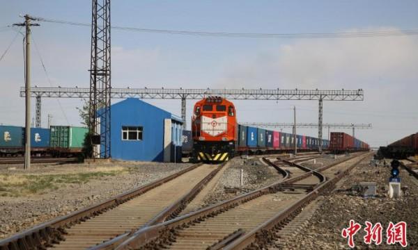中蒙唯一铁路口岸中欧班列今年破1000列
