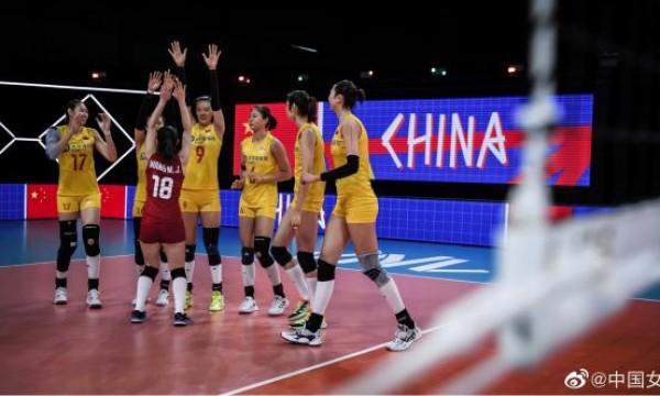 收官战3比0完胜美国队!中国女排结束世界联赛征程