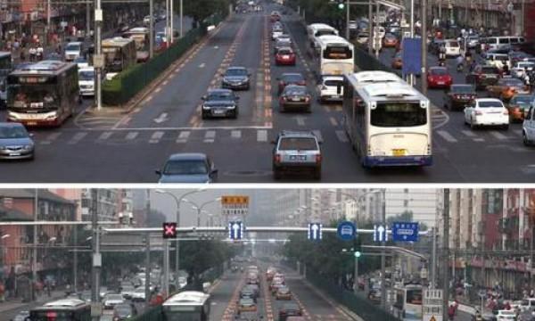 开车的时候遇见这种车道要避开,开错两次驾照可能就没了
