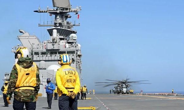 """美军第二艘美利坚级""""准航母""""完成最后试航,入役一年仍未达到目标能力"""