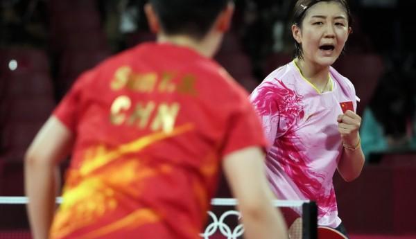 陈梦4-2击败孙颖莎 收获奥运女乒单打冠军