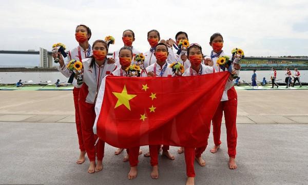 赛艇八人单桨中国摘铜牌 希腊折桂男单双桨创奥运最佳