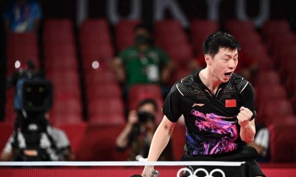 马龙因幼时体弱接触乒乓 国家队生涯近20载铸就传奇
