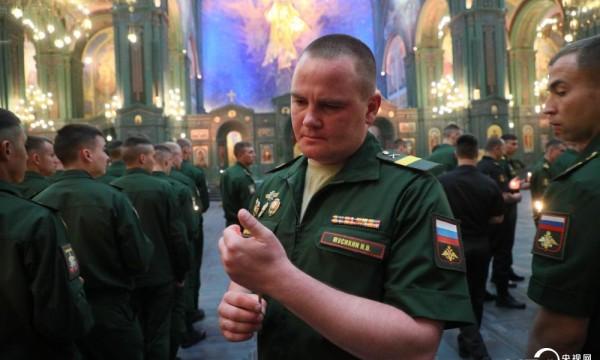 俄罗斯莫斯科举行活动纪念卫国战争爆发80周年