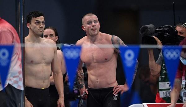混合4x100米混接力英国居首美国第二 中国第三进决赛