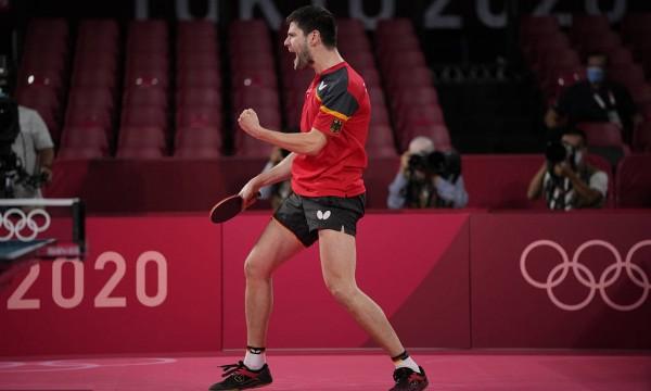 奥恰洛夫4-3逆转林昀儒 收获奥运乒乓球男单铜牌